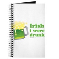 Irish I Were Drunk Journal