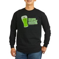 Irish Today Hungover Tomorrow Long Sleeve Dark T-S