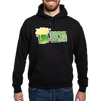 Drink Till Yer Green Hoodie (dark)
