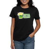 Drink Till Yer Green Women's Dark T-Shirt