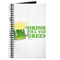 Drink Till Yer Green Journal