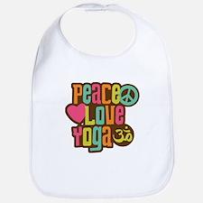 Peace Love Yoga Bib