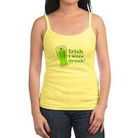 St Patrick's Irish I Were Drunk Jr. Spaghetti Tank