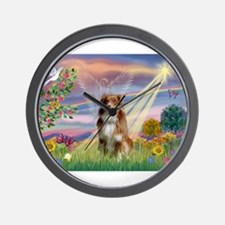 Cloud Angel / Aussie (rm) Wall Clock
