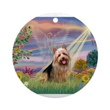 CLOUD ANGEL / AUSTER Ornament (Round)