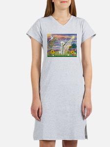 Cloud Angel Bedlington Women's Nightshirt