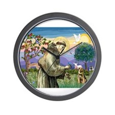 St Francis & Border T Wall Clock