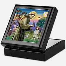 St Francis / American Brittan Keepsake Box