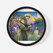 St Francis / American Brittan Wall Clock