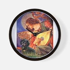 Mandolin Angel / Dachshund (B Wall Clock