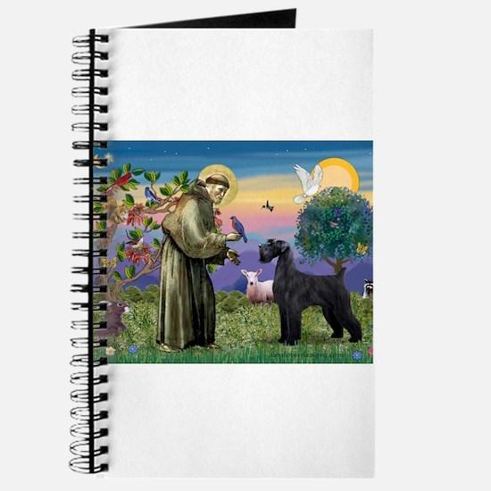 St Francis /G Schnauzer(blk) Journal