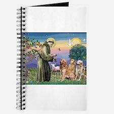 St Francis / 3 Goldens Journal