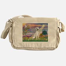 Cloud Angel /Gr Dane (w) Messenger Bag