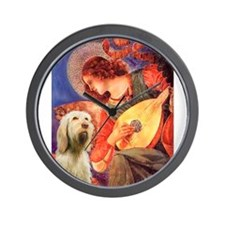Mandolin Angel/Spinone Wall Clock