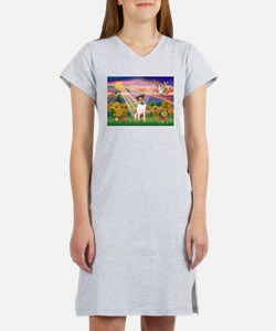 Autumn Angel / JRT Women's Nightshirt