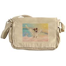 Angel /Jack Russell Terrier Messenger Bag