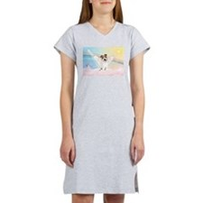 Angel /Jack Russell Terrier Women's Nightshirt