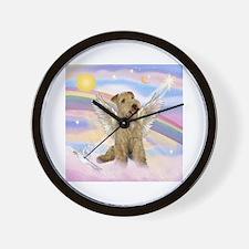 Lakeland Terrier Angel Wall Clock