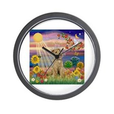 Autumn Angel / Lakeland Terri Wall Clock