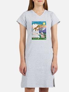 Angel Love / Lhasa Apso Women's Nightshirt