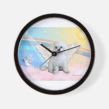 Maltese / Angel Wall Clock