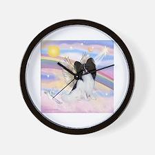 Papillon (#1) Angel Wall Clock