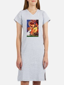 Angel/Sealyham L1 Women's Nightshirt