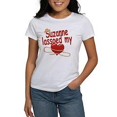 Suzanne Lassoed My Heart Tee
