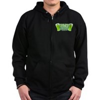 Feeling Single, Seeing Double Zip Hoodie (dark)