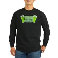 Feeling Single, Seeing Double Long Sleeve Dark T-S