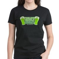 Feeling Single, Seeing Double Women's Dark T-Shirt