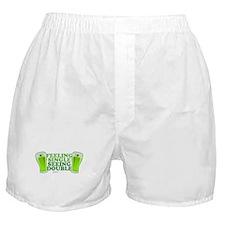 Feeling Single, Seeing Double Boxer Shorts