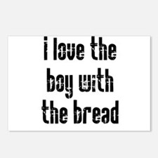 I Love the Boy With the Bread Postcards (Package o