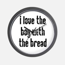 I Love the Boy With the Bread Wall Clock
