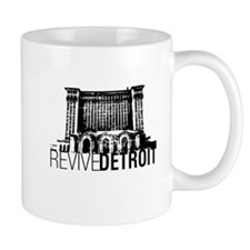 Revive Detroit Train Station Mug