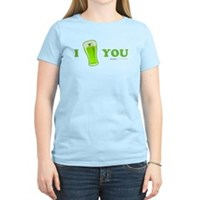 I Love You Beer Women's Light T-Shirt