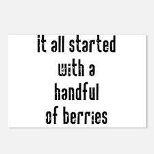 Handful of Berries Postcards (Package of 8)