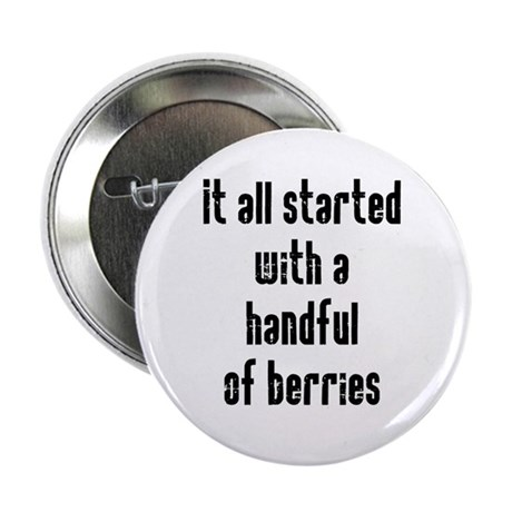 "Handful of Berries 2.25"" Button"