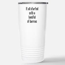 Handful of Berries Travel Mug