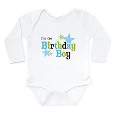 Birthday Boy Body Suit