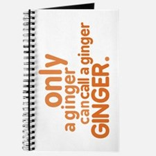Only a ginger Journal
