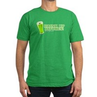 St Patrick's Drink Up Bitches Men's Fitted T-Shirt