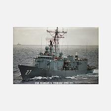 USS MAHLON S. TISDALE Rectangle Magnet