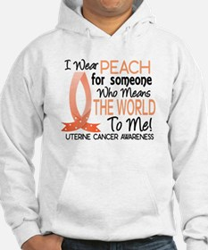 Means World To Me 1 Uterine Cancer Shirts Hoodie