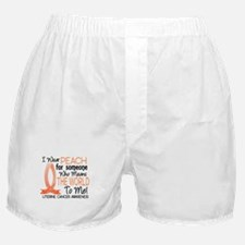 Means World To Me 1 Uterine Cancer Shirts Boxer Sh