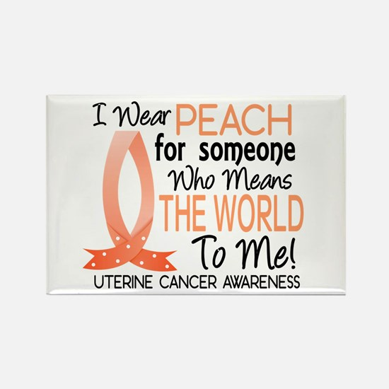 Means World To Me 1 Uterine Cancer Shirts Rectangl