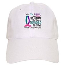Means World To Me 1 Thyroid Cancer Shirts Baseball Cap
