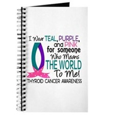 Means World To Me 1 Thyroid Cancer Shirts Journal