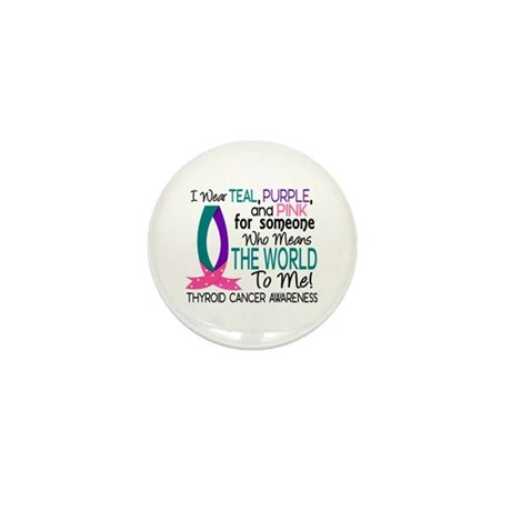 Means World To Me 1 Thyroid Cancer Shirts Mini But