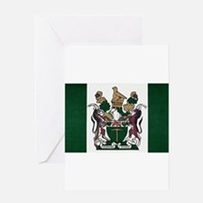 Rhodesia Flag Greeting Card